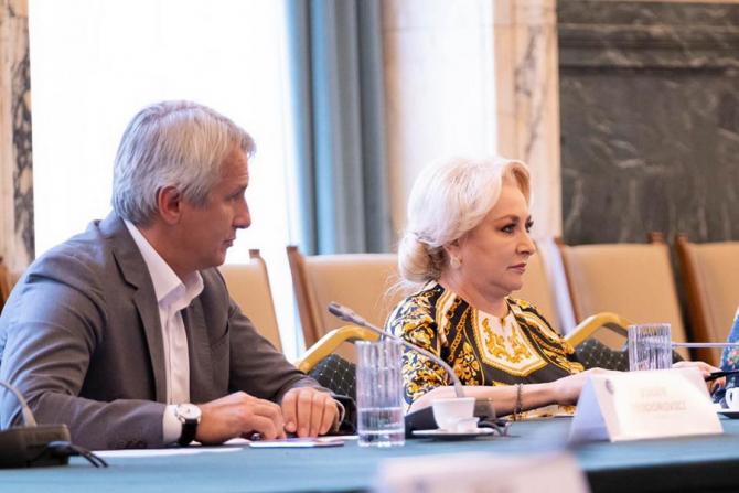 Eugen Teodorovici și Viorica Dăncilă