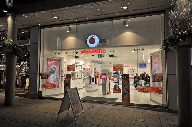 Vodafone a fost amendată din nou