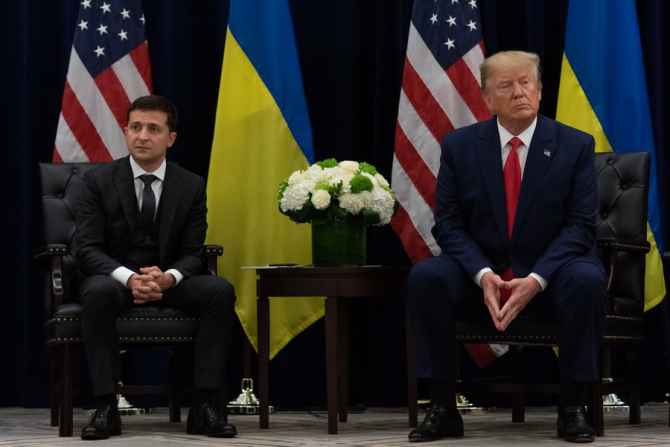 Volodimir Zelenski și Donald Trump / Foto: president.gov.ua