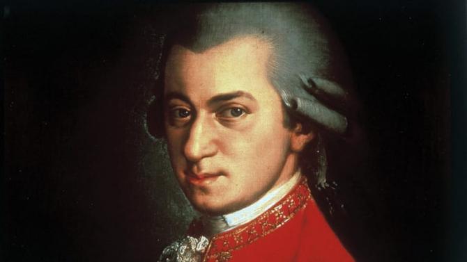 Un portret al lui Mozart