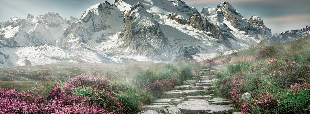 Peisaj muntos
