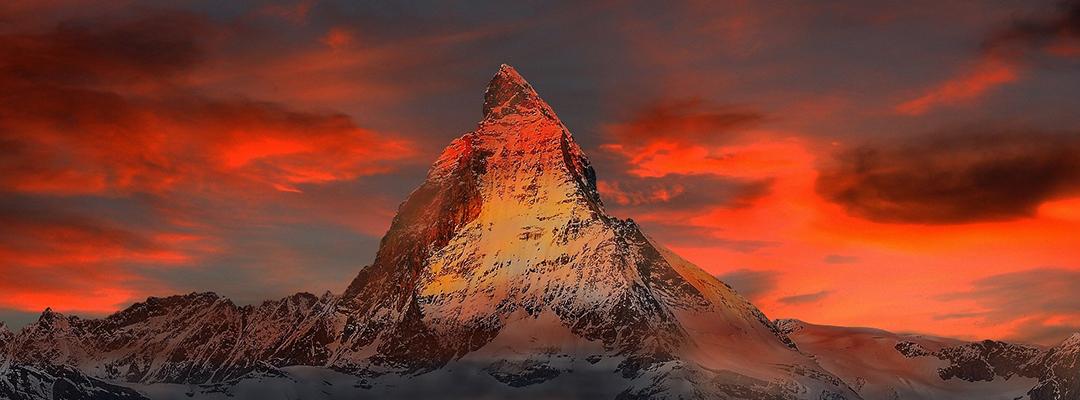 Matterhorn, Alpii Elvețieni