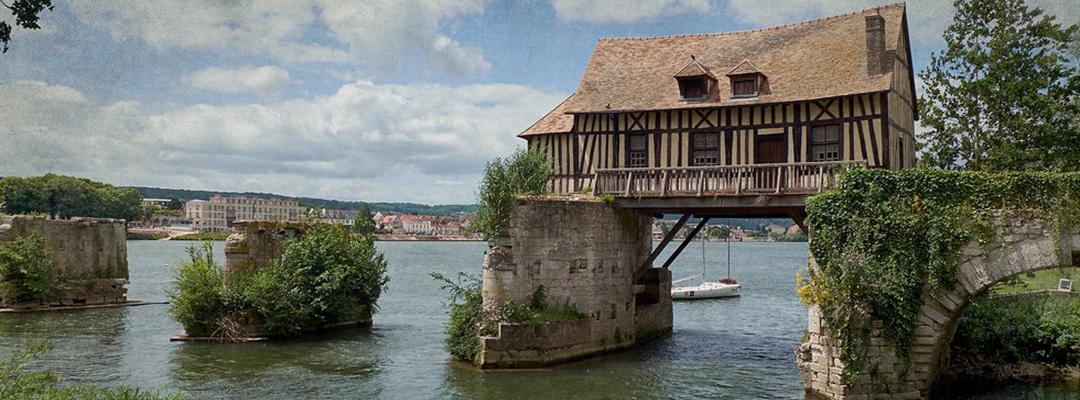 Vieux pont de Vernon, Franța