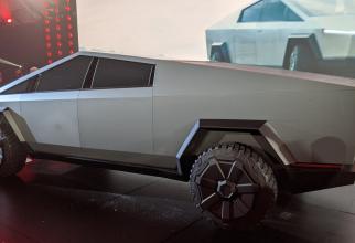 Camioneta Cybertruck de la Tesla