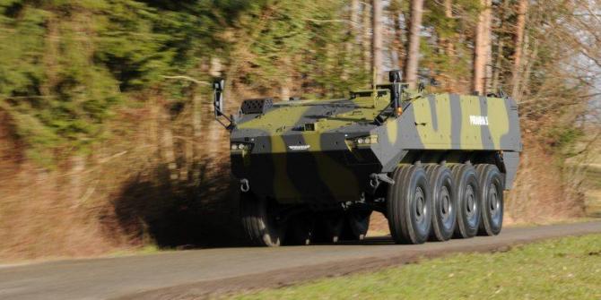 Armata României va achiziţiona 227 de transportoare Piranha 5