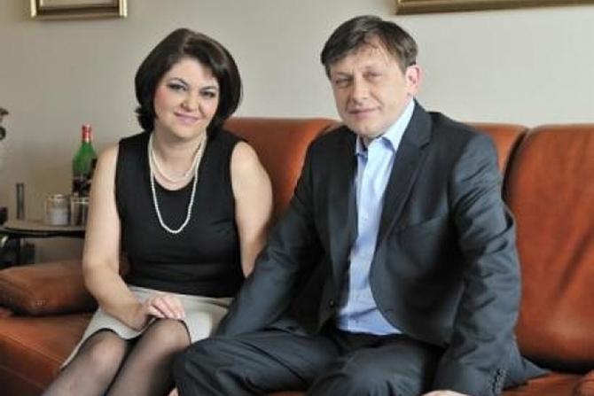 Adina Vălean și Crin Antonescu