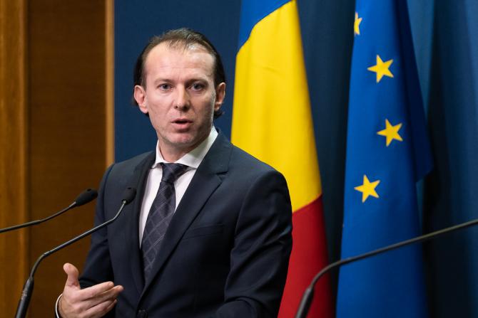 Ministrul Finanţelor, Florin Cîţu, a declarat luni că moţiunea de astăzi nu este despre el