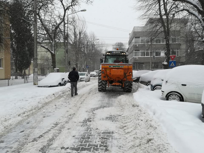 Capitala este pregătită de iarnă
