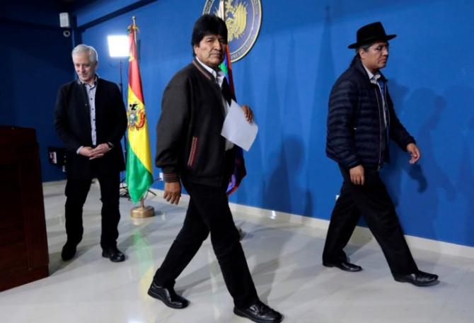 Evo Morales a demisionat