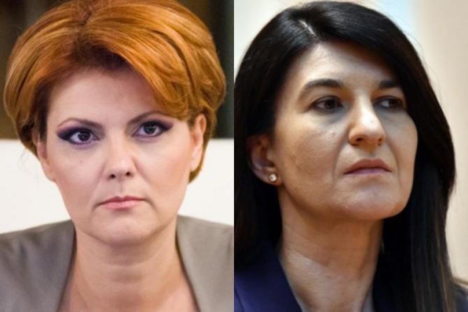 Lia Olguța Vasilescu, extrem de critică la adresa Violetei Alexandru