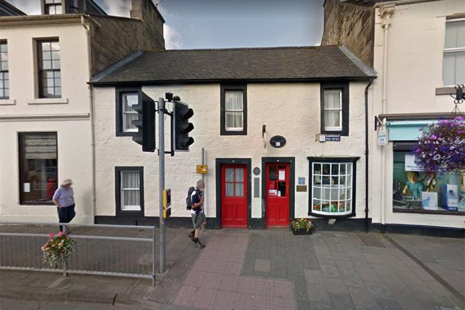 Oficiul postal din Sanquhar, Scoția