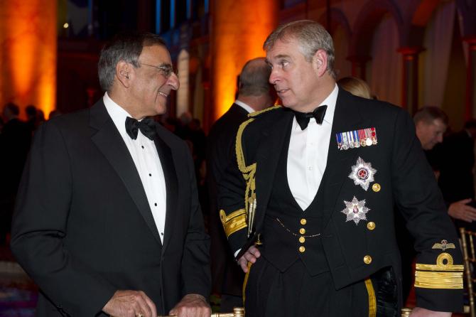 Prințul Andrew, dreapta