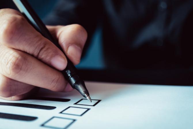 Prezenţa la vot la alegerile prezidenţiale