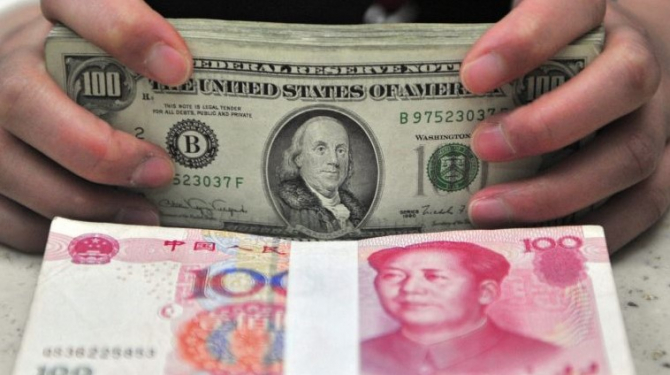 În condițiile date, dolarul a deveni un pericol pentru China