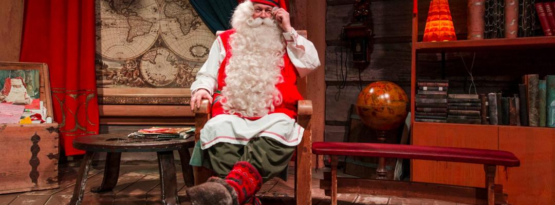 Acasă la Moș Crăciun