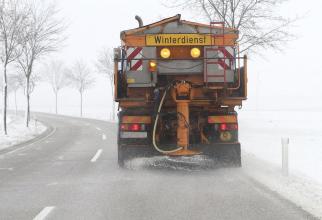 Drumurile din Germania se curata cu saramura de la muraturi