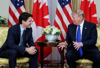 JUstin Trudeau și Donald Trump