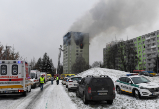 Explozie provocata de o acumulare de gaze