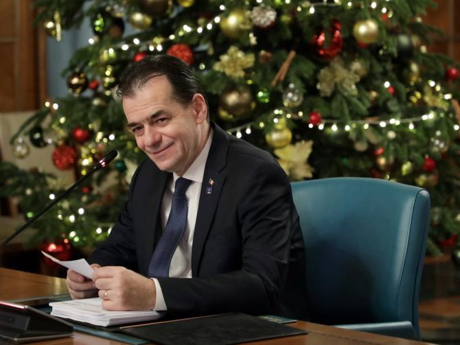 Premierul Ludovic Orban a declarat duminică seara, într-o emisiune televizată, că şi-ar dori o pensie decentă pentru mama sa