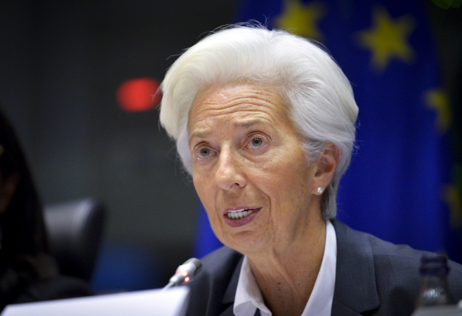 Christine Lagarde / Foto: Dominique HOMMEL Copyright© European Union 2019 - Source : EP
