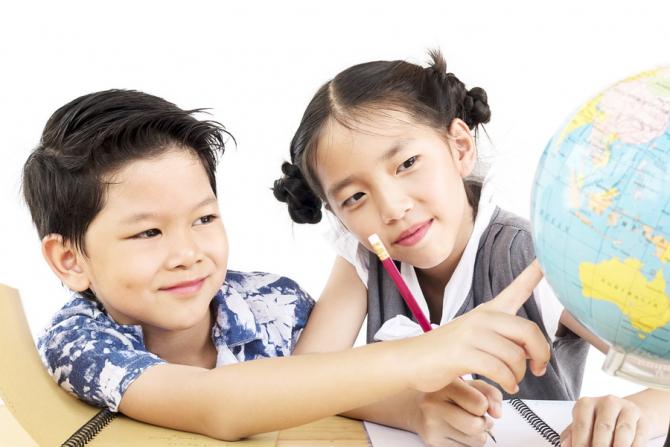 Copiii din china sunt cei mai destepti