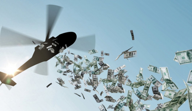 """Conceptul """"helicopter money"""""""