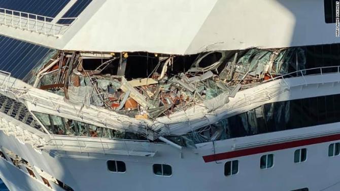 Accidentul naval a provocat rănirea unei persoane