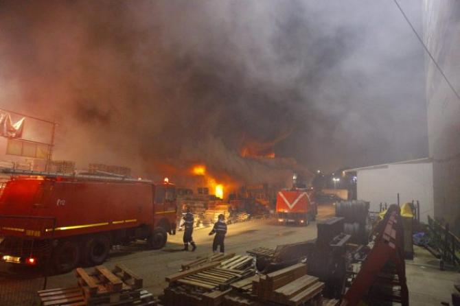 Incendiu din Fundeni