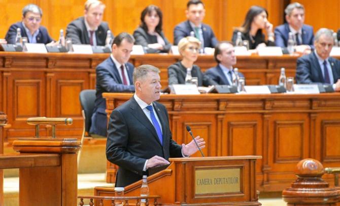 Iohannis, mândru să preia al doilea mandat