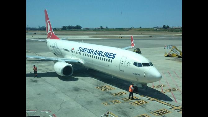 Compania aeriană de stat Turkish Airlines (THY) a anunţat că a suspendat toate zborurile către China