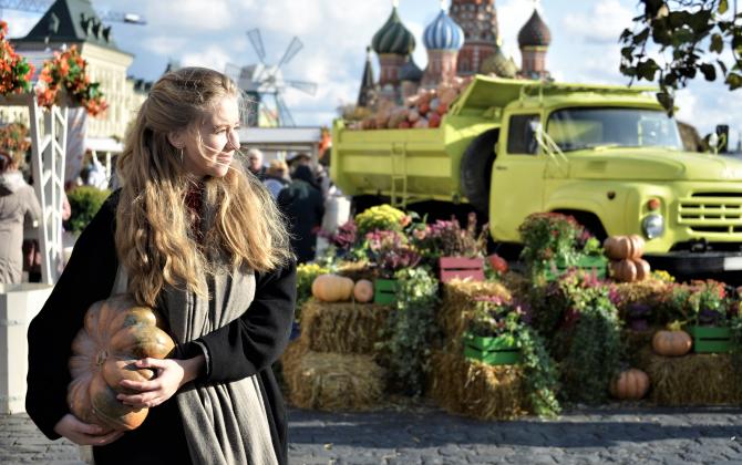 Moscoviții inu s-au mai confruntat cu așa ceva