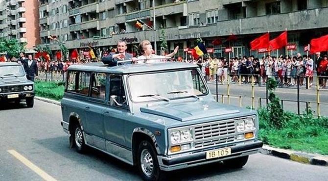 Mașina de teren ARO care a aparținut lui Nicolae Ceaușescu s-a vândut cu o sumă destul de consistentă