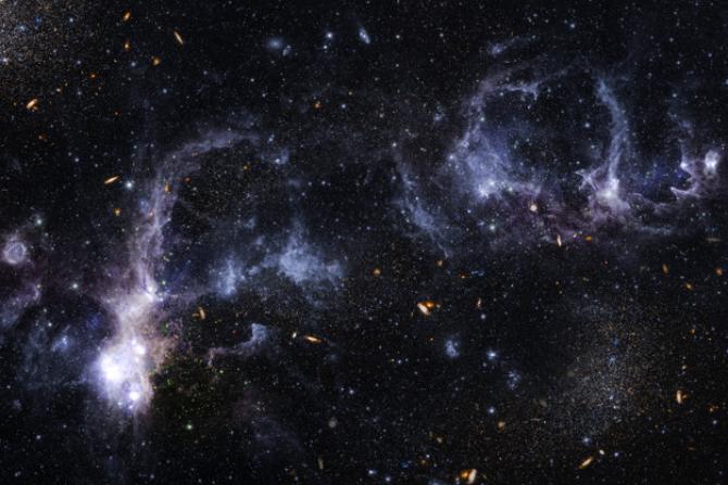 Astronomii au anunţat identificarea celei mai îndepărtate galaxii în care se formează stele