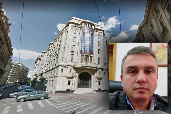 Eduard Ionescu, prorectorul Universității Spiru Haret