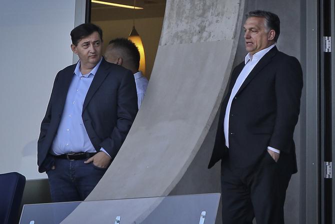Lorinc Meszaros și Viktor Orban / Foto: index.hu/István Huszti