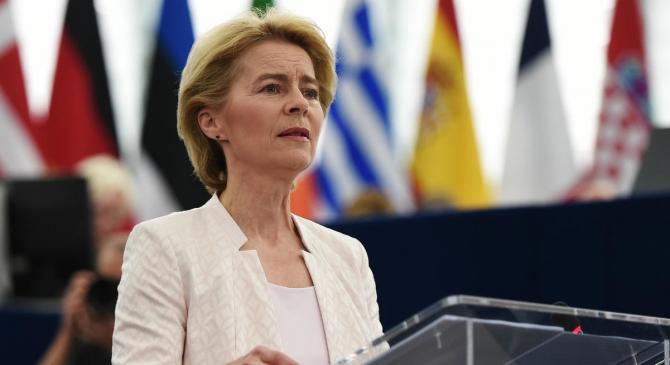 Preşedinta Comisiei Europene Ursula von der Leyen a criticat legislaţia americană