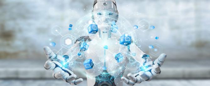 Un robot inteligent, care poate identifica emoţiile cu ajutorul unor detectoare vocale
