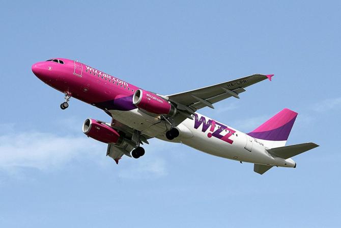Operatorul aerian Wizz Air anunţă reducerea numărului de zboruri efectuate din România către destinaţiile din Italia