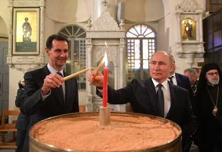 Vladimir Putin și Bashar al Assad