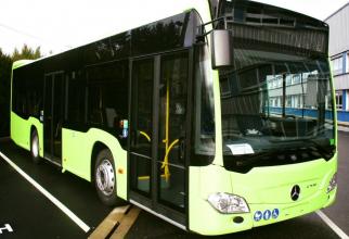 Prototipul autobuzelor hibrid care vor circula în Bucureşti va fi livrat pe 1 martie