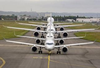 Grupul aerospaţial european Airbus a anunţat luni noi măsuri destinate consolidării poziţiei sale financiare