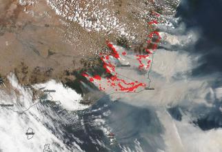 Incendiu din Australia nu dă semne să se potolească