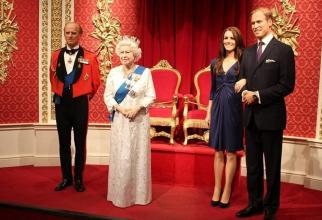 Madame Tussauds, celebru muzeu londonez, a decis să separe figurile de ceară ale ducilor de Sussex de restul familiei regale