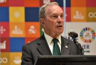 Michael Bloomberg, miliardar american şi candidat la învestitura democrată pentru alegerile prezidenţiale din noiembrie
