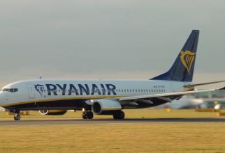 Cursa Ryanair s-a întors pe aeroport după ce a survolat o oră deasupra Otopeniului
