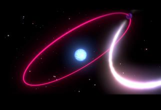 Astronomii au reușit să observe cum se curbează spațiul și timpul