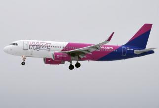 Wizz Air lansează patru noi rute din Iași