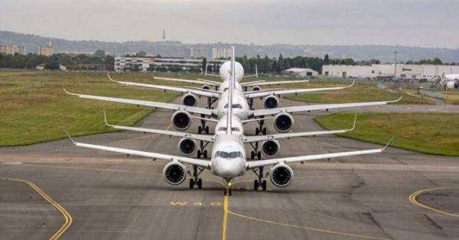 Profitul Airbus a scăzut cu 49% în primul trimestru din 2020