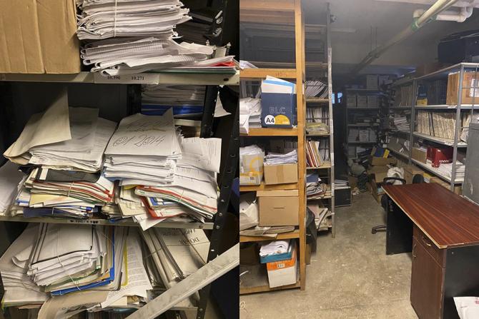 Arhivele cu documentele cetățenilor sunt într-o avansată stare de degradare
