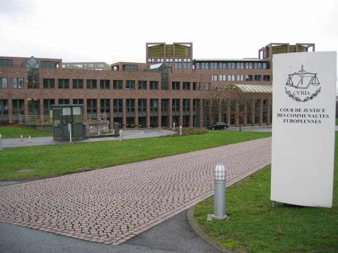 Curtea de Justiţie a Uniunii Europene